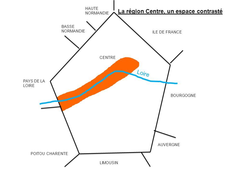 La région Centre, un espace contrasté