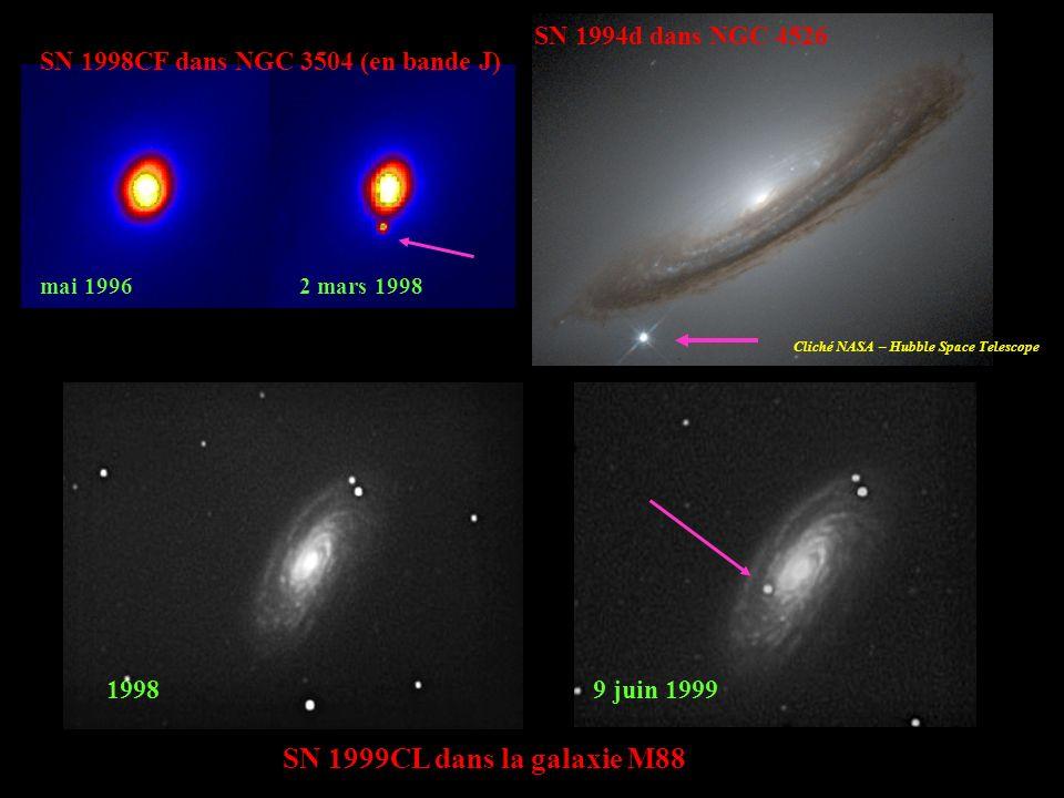 SN 1999CL dans la galaxie M88 1998 9 juin 1999