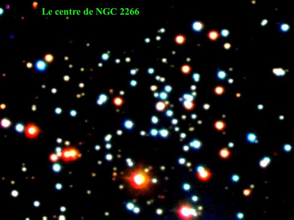 a Le centre de NGC 2266