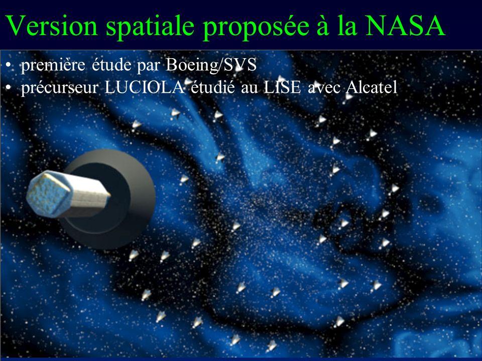 Version spatiale proposée à la NASA