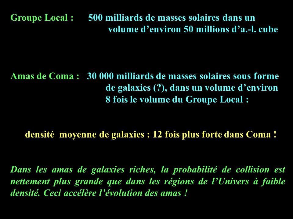 Groupe Local : 500 milliards de masses solaires dans un