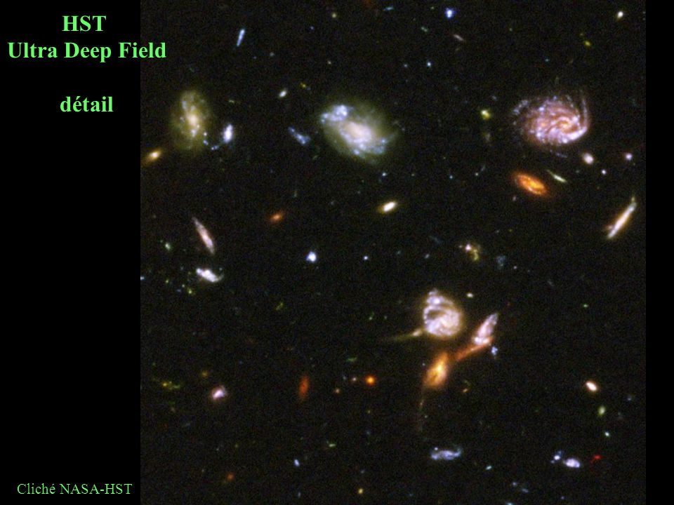 HST Ultra Deep Field détail