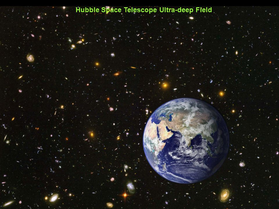 Hubble Space Telescope Ultra-deep Field