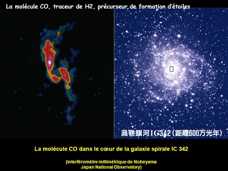 La molécule CO dans le cœur de la galaxie spirale IC 342