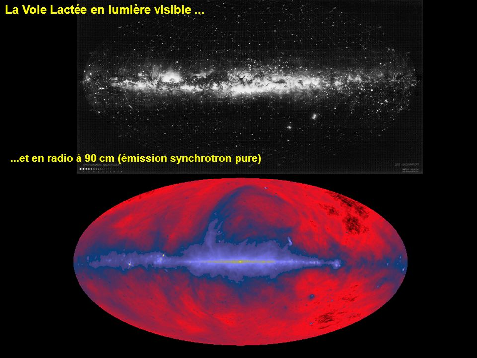 La Voie Lactée en lumière visible ...