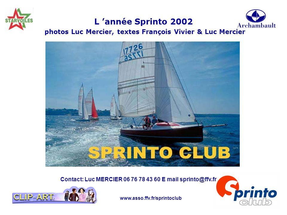 L 'année Sprinto 2002 photos Luc Mercier, textes François Vivier & Luc Mercier
