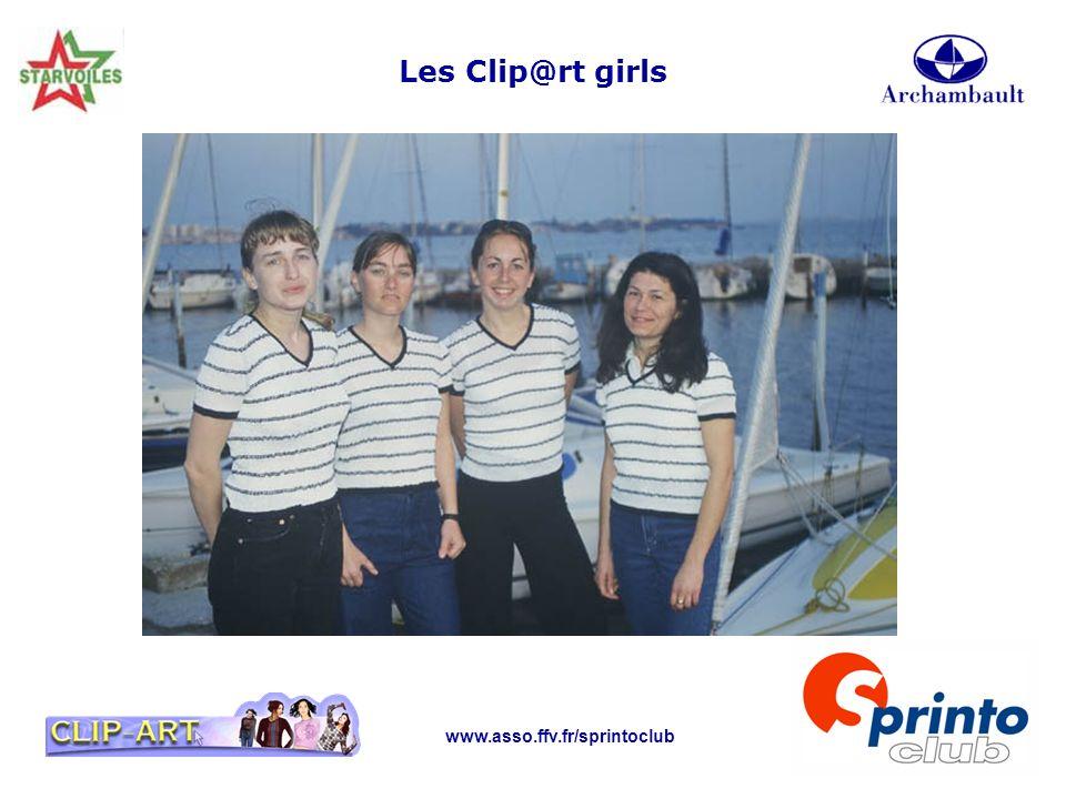 Les Clip@rt girls www.asso.ffv.fr/sprintoclub