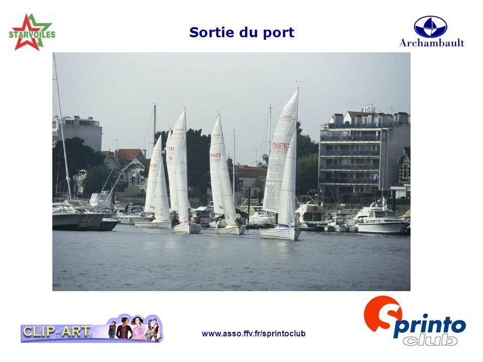 Sortie du port www.asso.ffv.fr/sprintoclub