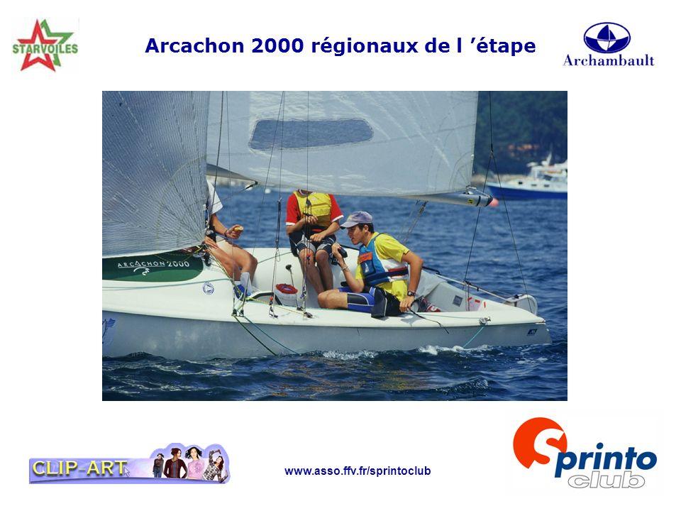 Arcachon 2000 régionaux de l 'étape
