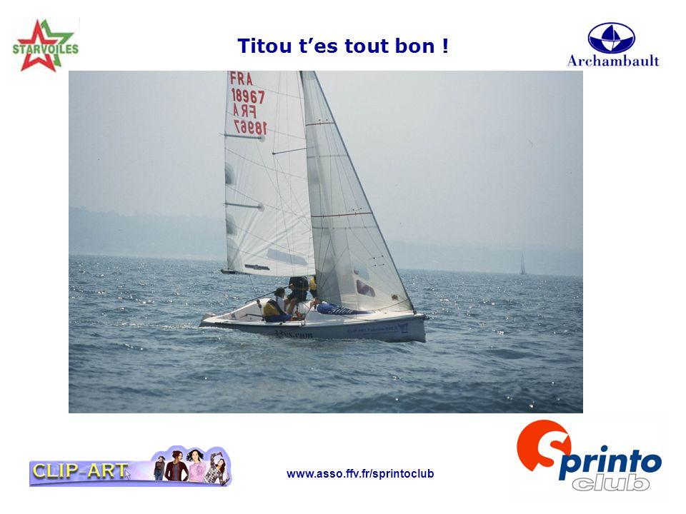 Titou t'es tout bon ! www.asso.ffv.fr/sprintoclub
