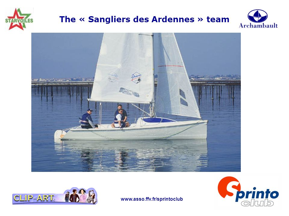 The « Sangliers des Ardennes » team