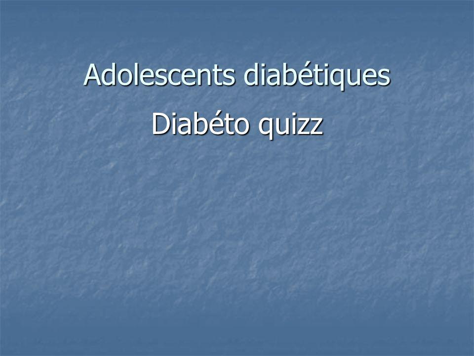 Adolescents diabétiques