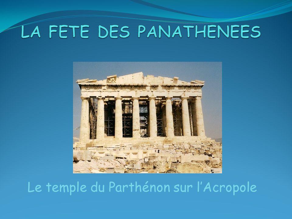 LA FETE DES PANATHENEES
