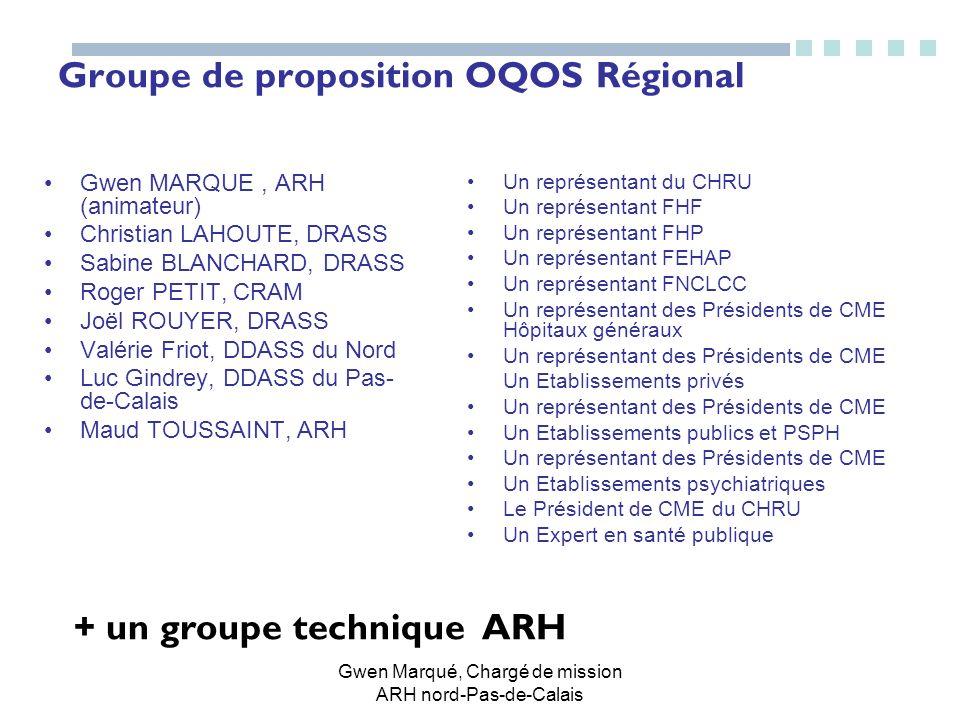 Groupe de proposition OQOS Régional