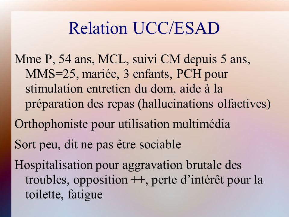 Relation UCC/ESAD