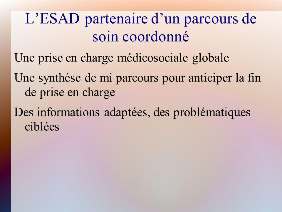 L'ESAD partenaire d'un parcours de soin coordonné