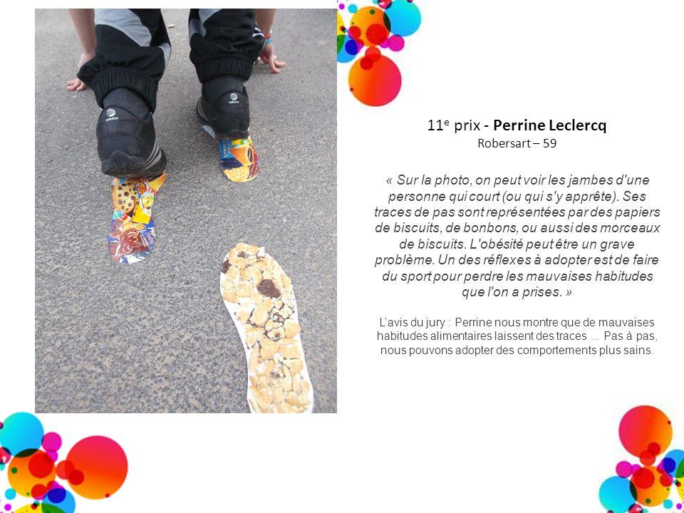 11e prix - Perrine Leclercq