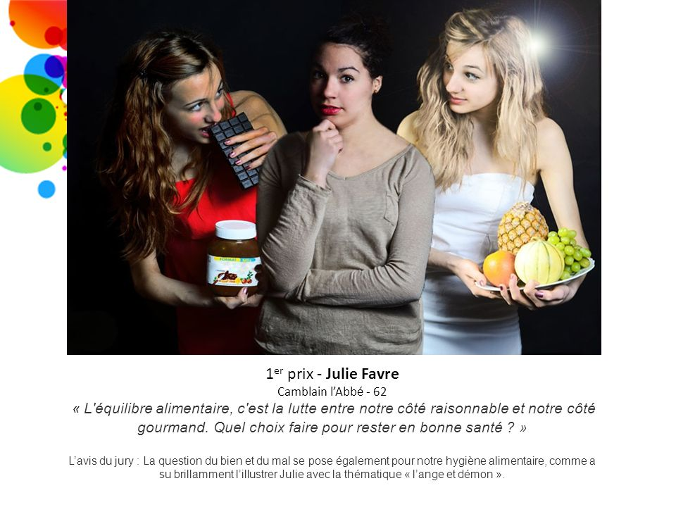 1er prix - Julie Favre Camblain l'Abbé - 62.