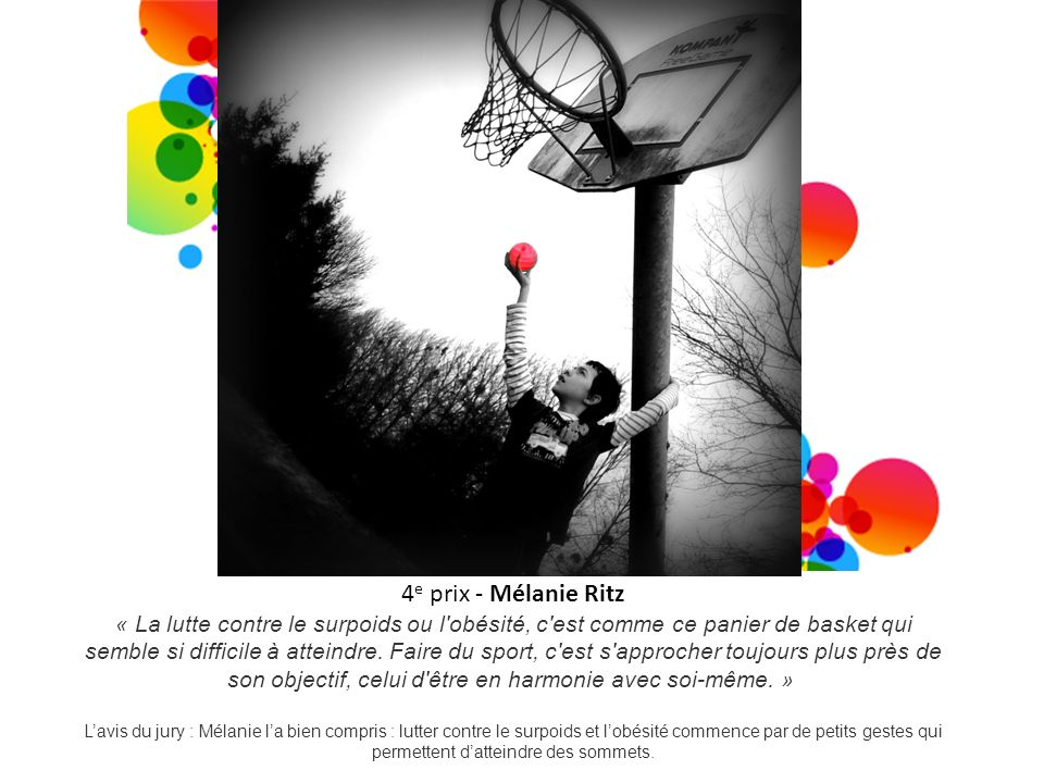 4e prix - Mélanie Ritz