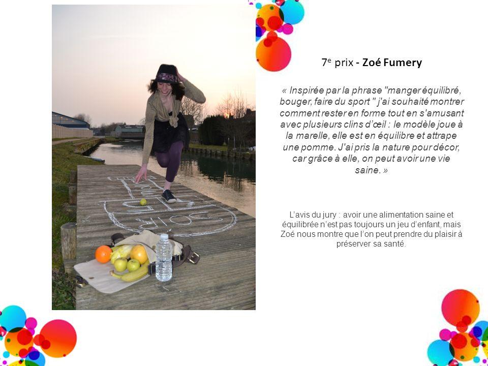7e prix - Zoé Fumery