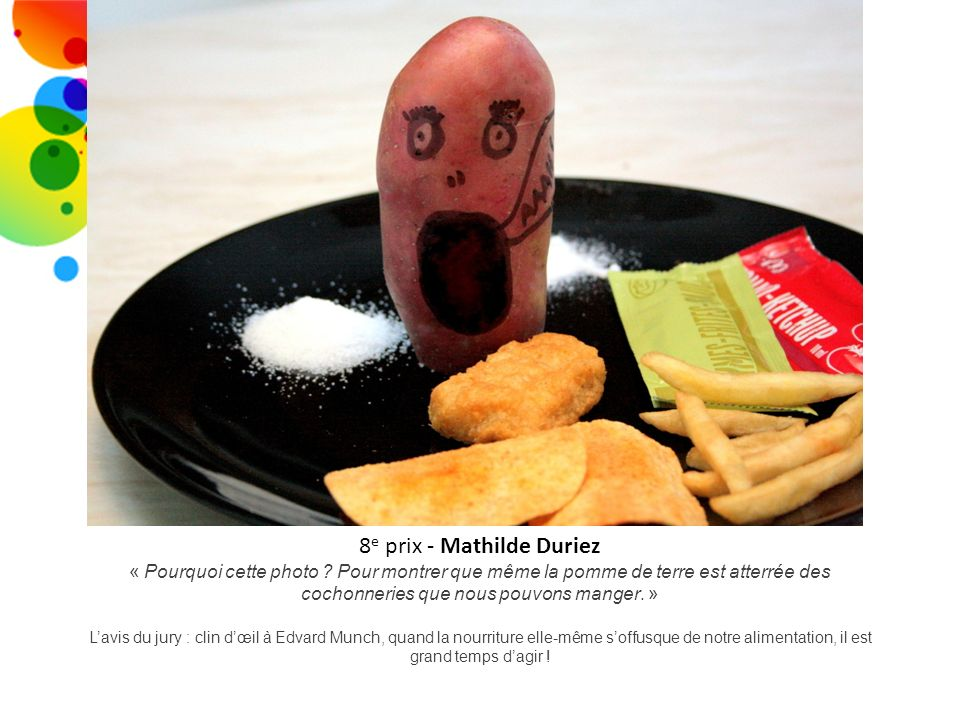 8e prix - Mathilde Duriez
