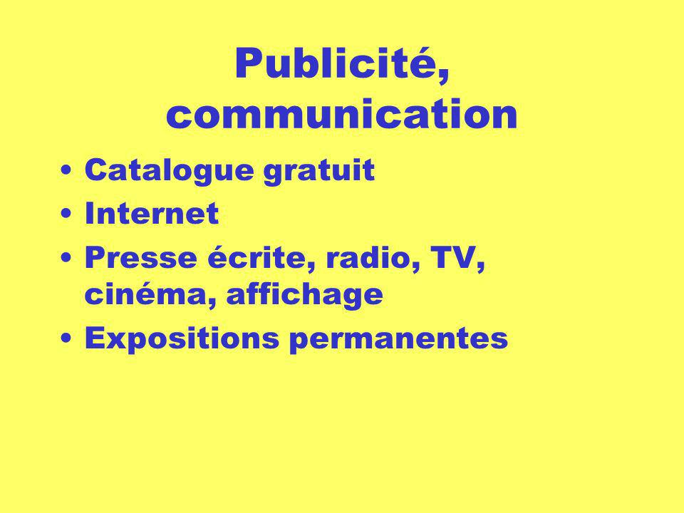 Publicité, communication