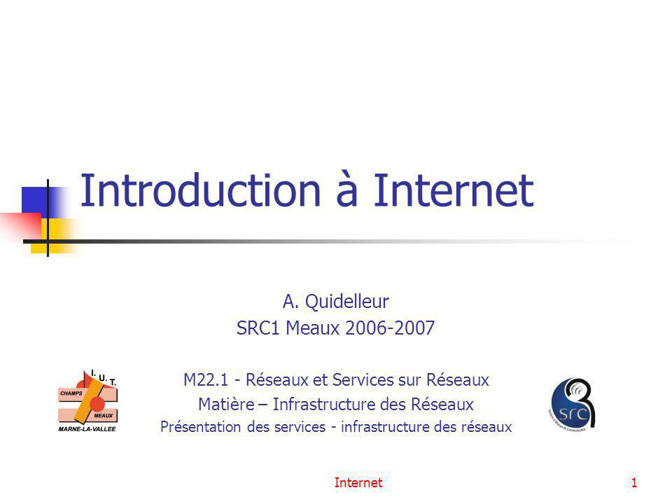 Introduction à Internet