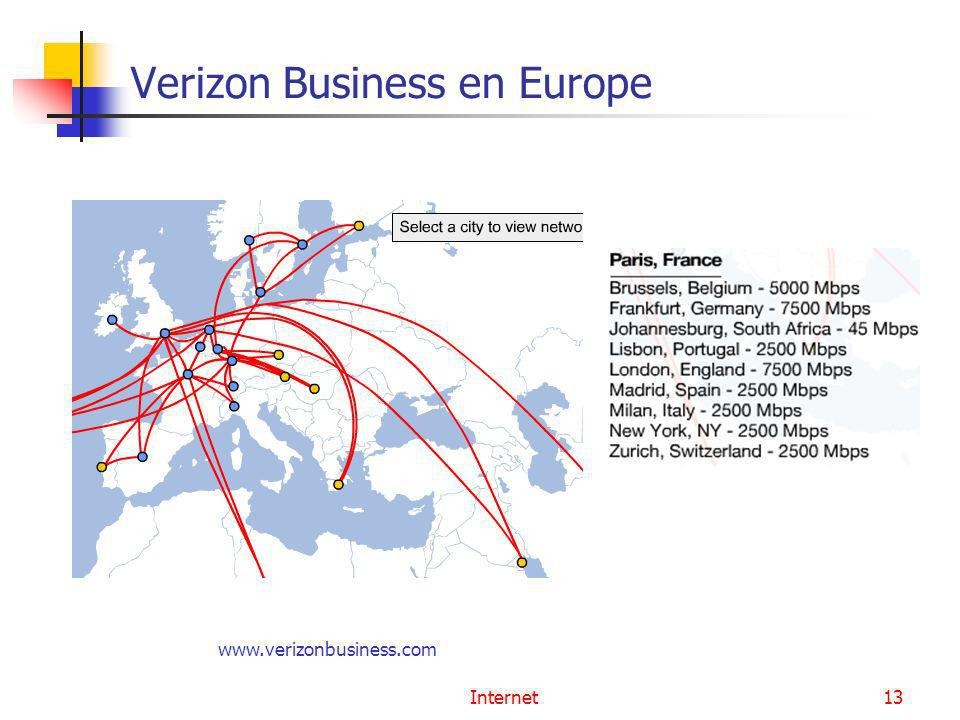 Verizon Business en Europe