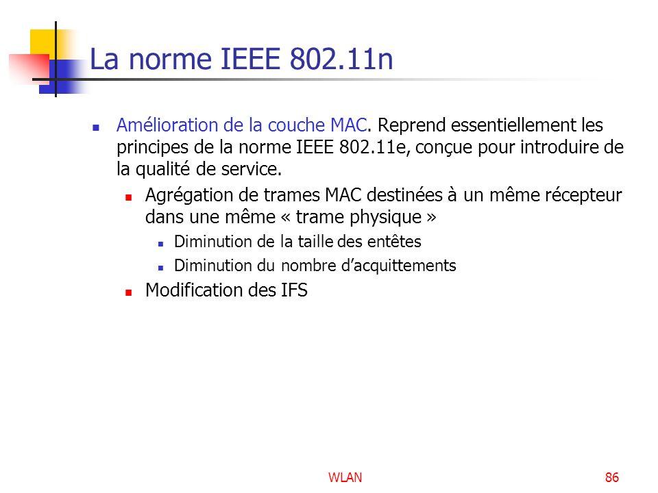 La norme IEEE 802.11n