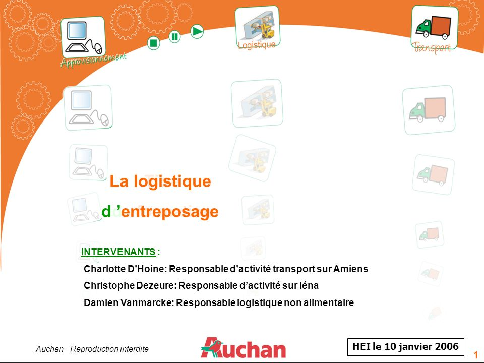 Auchan - Reproduction interdite