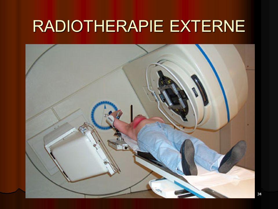 RADIOTHERAPIE EXTERNE