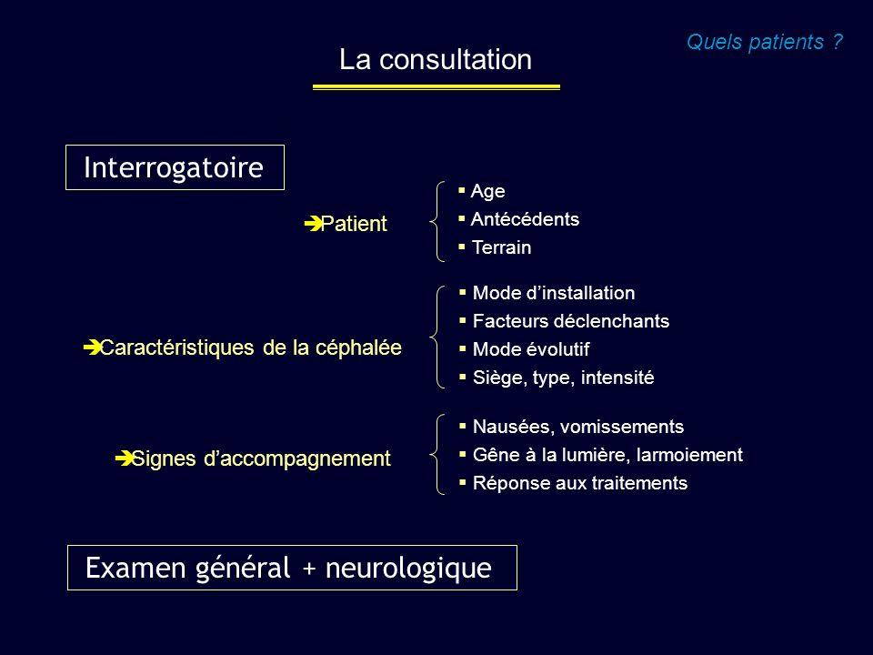 Examen général + neurologique
