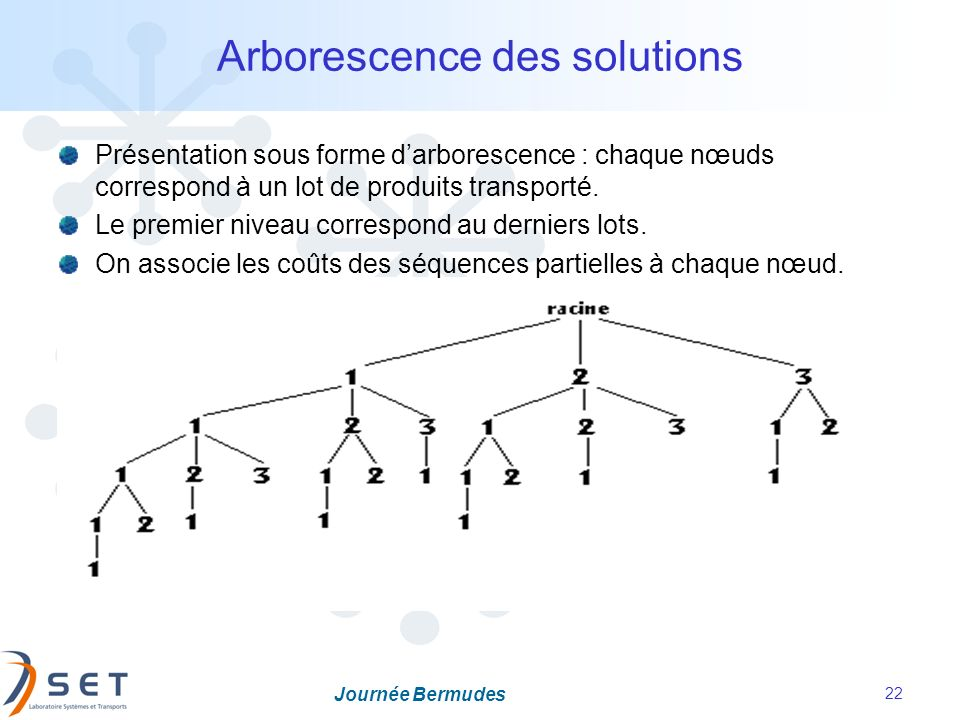 Arborescence des solutions