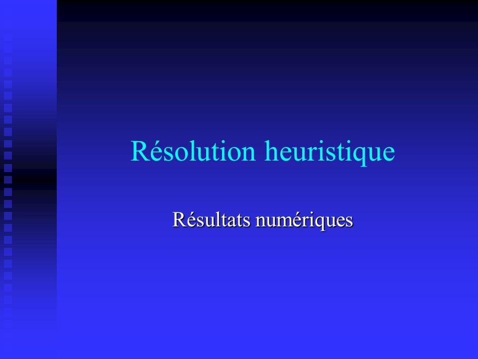 Résolution heuristique