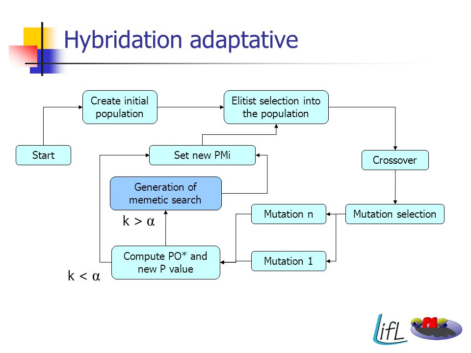 Hybridation adaptative