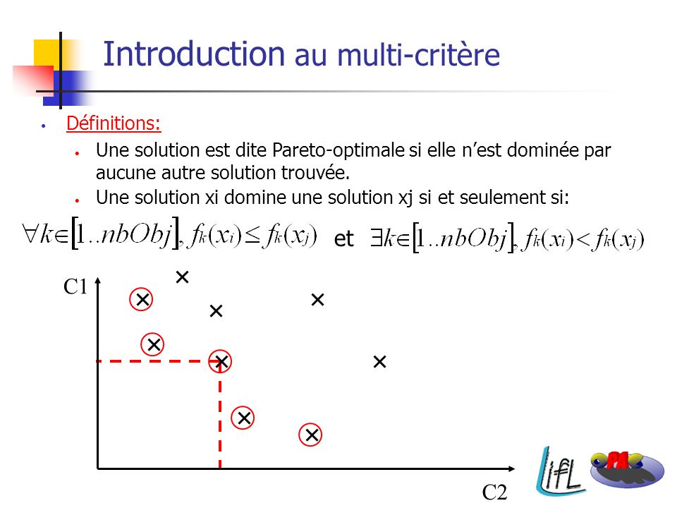 Introduction au multi-critère