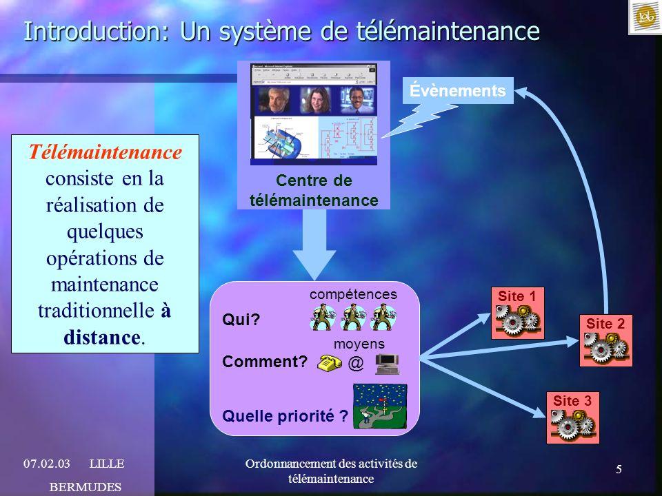 Introduction: Un système de télémaintenance