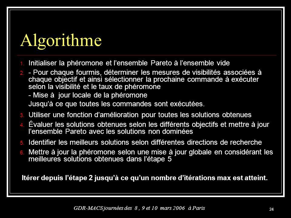 GDR-MACS journées des 8 , 9 et 10 mars 2006 à Paris
