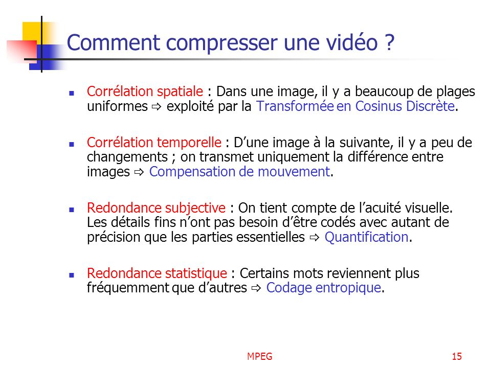 Comment compresser une vidéo