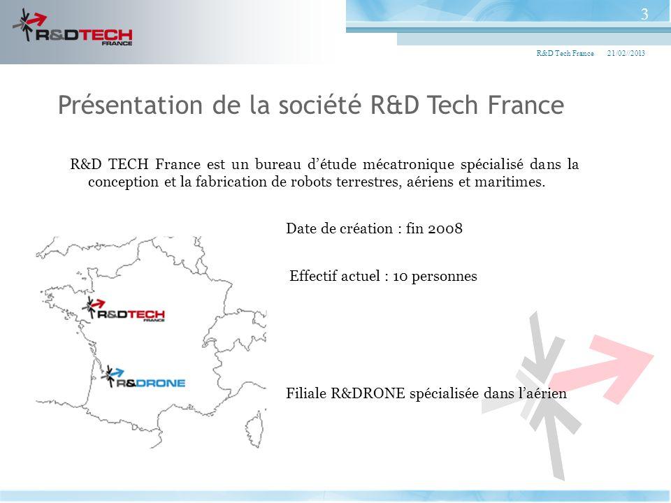 Présentation de la société R&D Tech France
