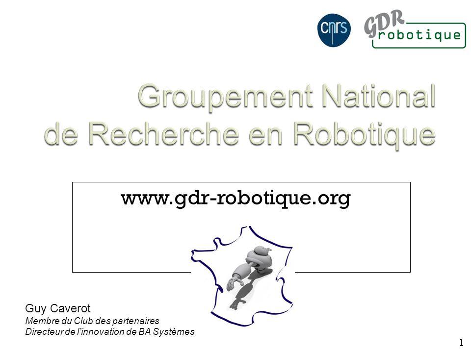 Groupement National de Recherche en Robotique