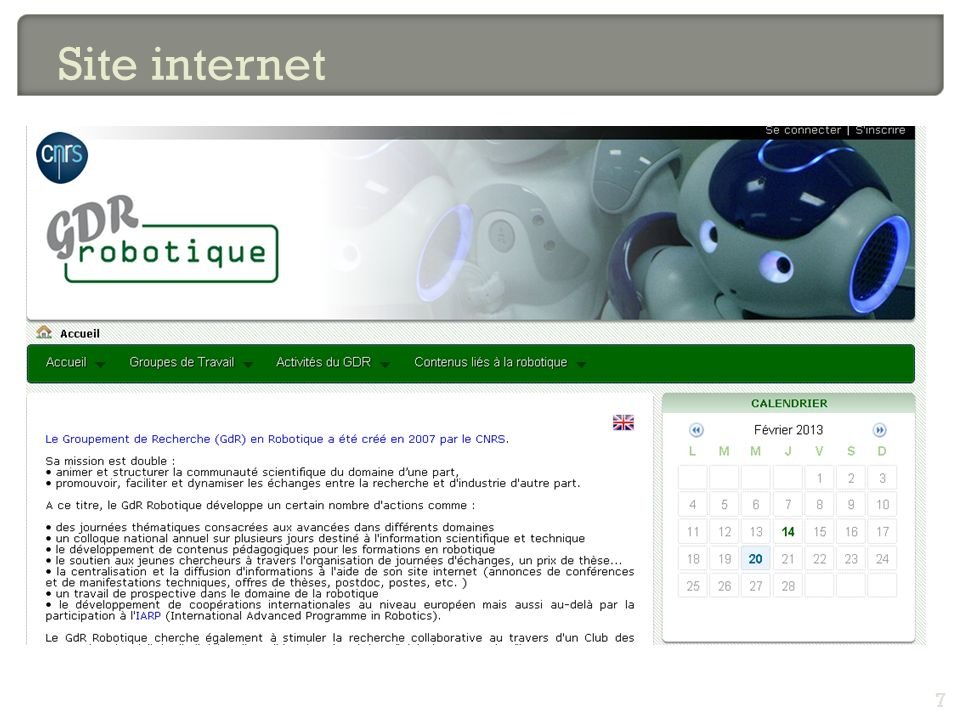Site internet 7