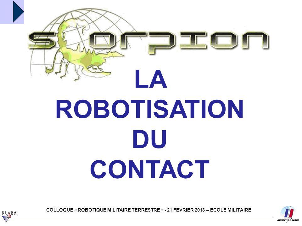 LA ROBOTISATION DU CONTACT