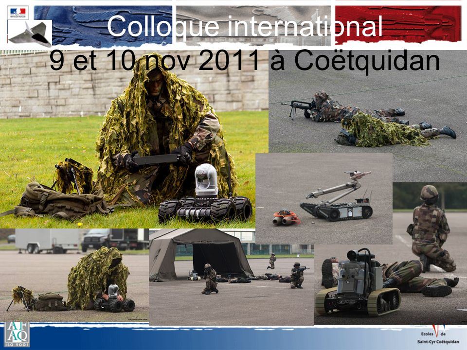 Colloque international 9 et 10 nov 2011 à Coëtquidan