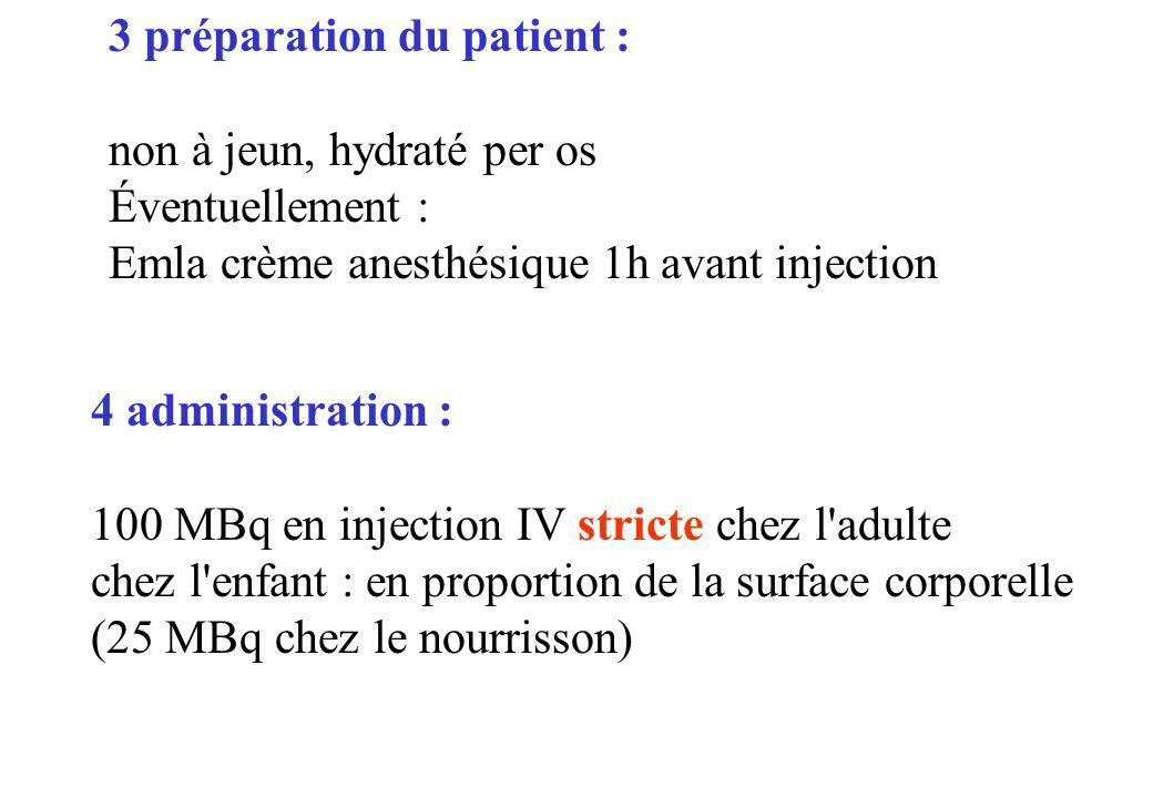 3 préparation du patient :