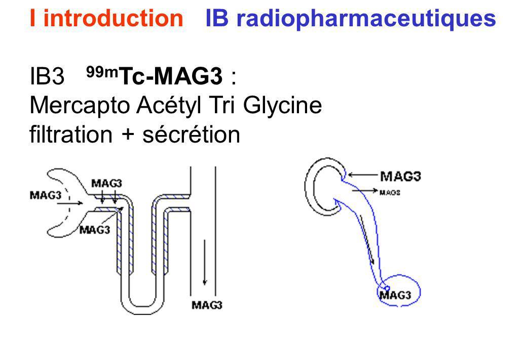 I introduction IB radiopharmaceutiques