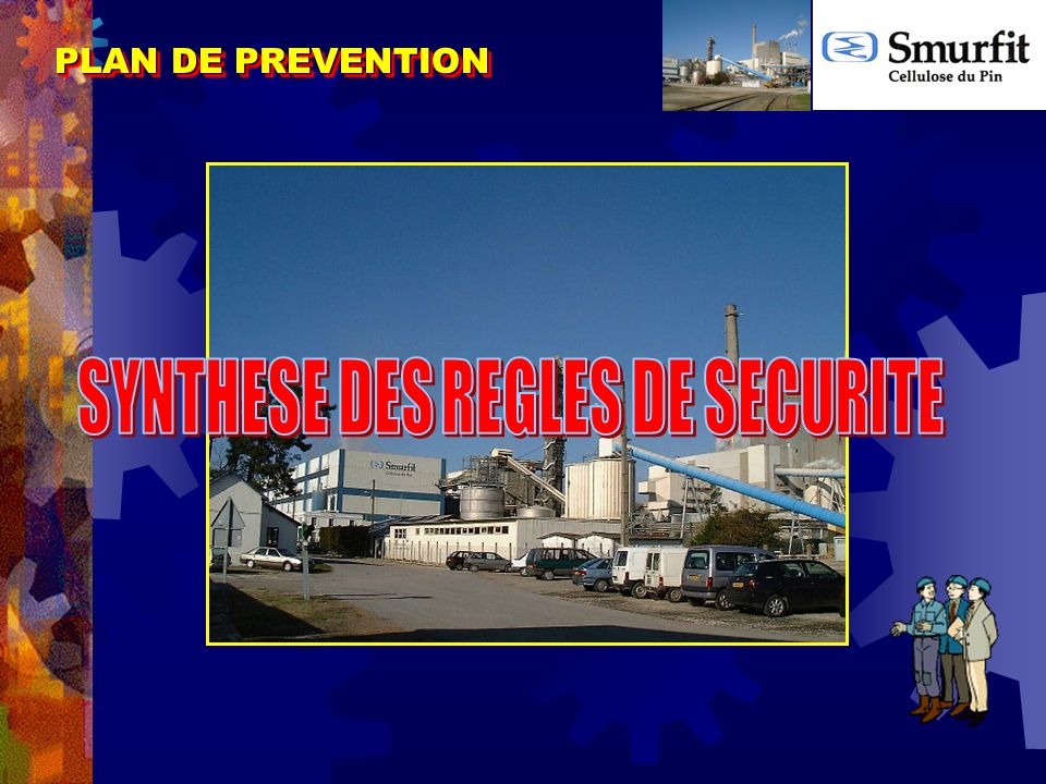 SYNTHESE DES REGLES DE SECURITE