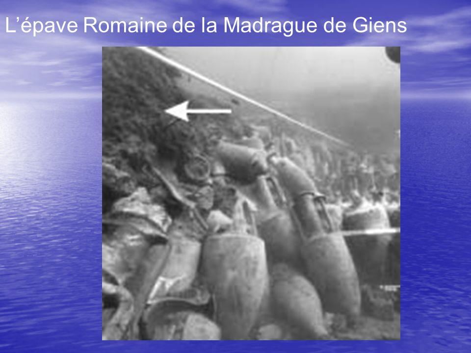 L'épave Romaine de la Madrague de Giens