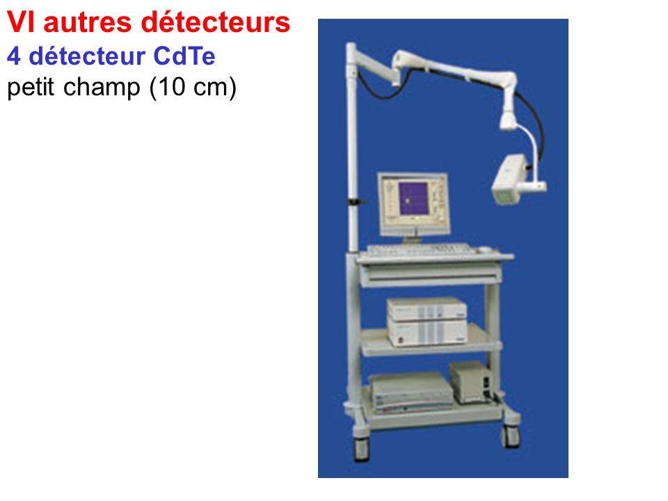 VI autres détecteurs 4 détecteur CdTe petit champ (10 cm)