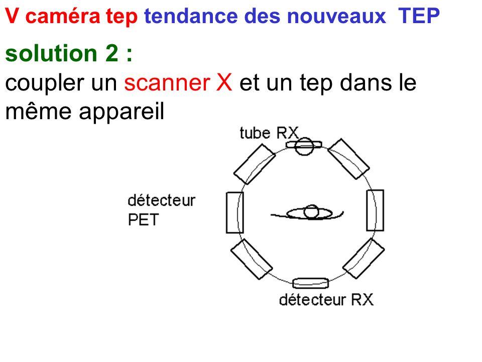 coupler un scanner X et un tep dans le même appareil